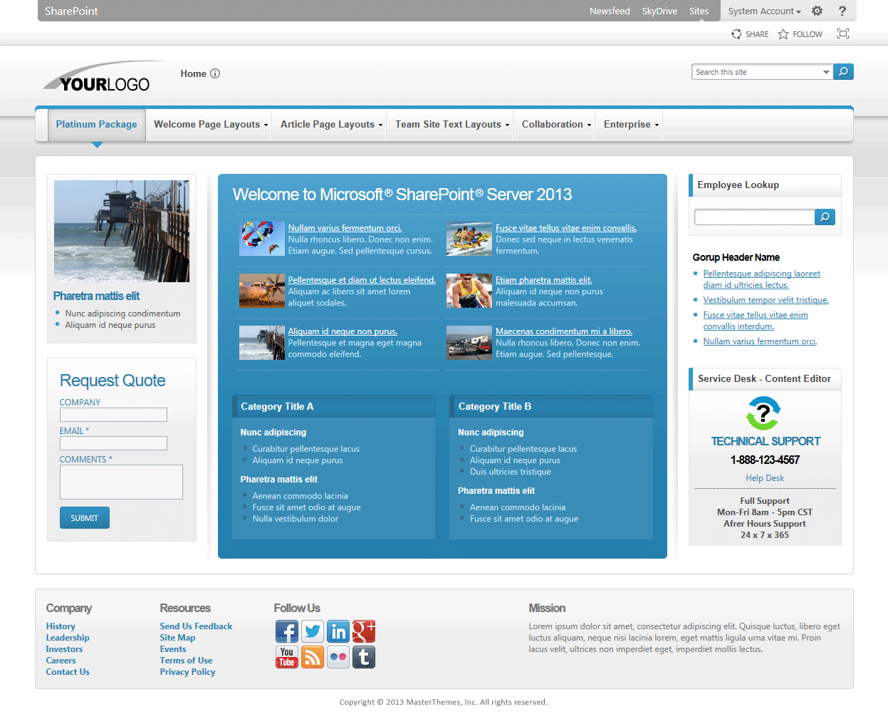 sharepoint templates 2013 - Gidiye.redformapolitica.co